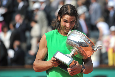 Rafa Wins Rolland Garros 2008 Championships
