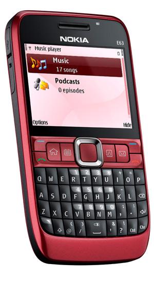 Nokia E63 Ruby