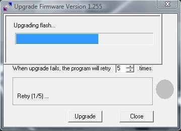 Upgrading  Flash