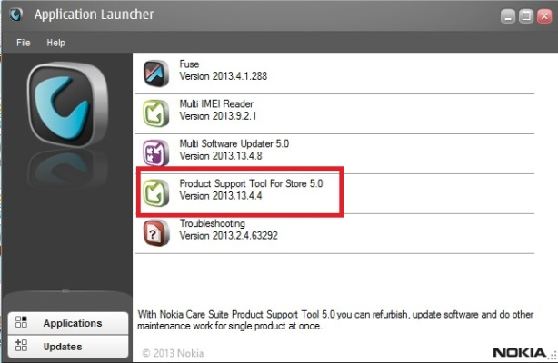 Application Launcher